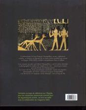 Lettres Et Journaux Du Voyage En Egypte (Champollion) - 4ème de couverture - Format classique