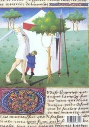 L'Enluminure Francaise Au Temps De Jean Fouquel - 4ème de couverture - Format classique