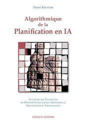 Algorithmique de la planification en ia - Intérieur - Format classique