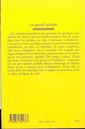 Le grand Sylvain - 4ème de couverture - Format classique