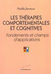 Therapies Comportementales Cognitives - Intérieur - Format classique