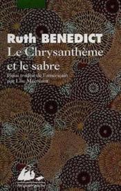 Le chrysanthème et le sabre - Couverture - Format classique