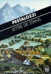 Lettre De Stans - Couverture - Format classique