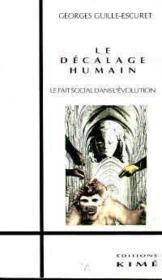 Le décalage humain - Couverture - Format classique