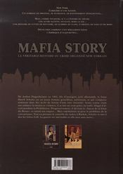 Mafia story t.1 ; la folie du hollandais t.1 - 4ème de couverture - Format classique