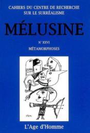 Melusine 26 Metamorphoses - Couverture - Format classique