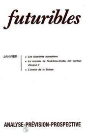 Futuribles N.161 Janvier 1992 - Couverture - Format classique