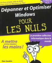 Depanner Et Optimiser Windows - Intérieur - Format classique