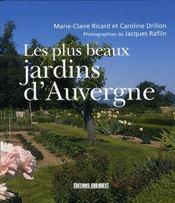 Les plus beaux jardins d'auvergne - Intérieur - Format classique