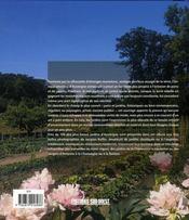 Les plus beaux jardins d'auvergne - 4ème de couverture - Format classique