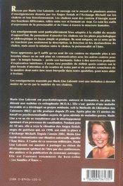 Maitre De Ses Chakras. Maitre De Sa Vie - 4ème de couverture - Format classique
