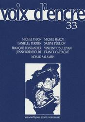 Revue Voix D'Encre N.33 - Intérieur - Format classique