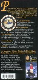 Guide Des Vents Marins - 4ème de couverture - Format classique