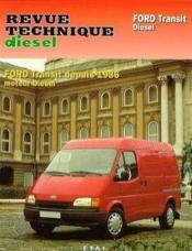 Rta 148.3 Ford Transit Diesel (86-94) - Couverture - Format classique