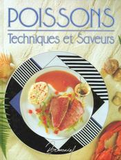 Poissons ; techniques et saveurs - Intérieur - Format classique