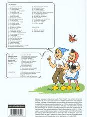 Sylvain et Sylvette t.43 ; le plein de gags - 4ème de couverture - Format classique