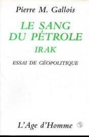 Le Sang Du Petrole T.2 - Couverture - Format classique