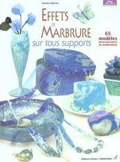 Effets De Marbrure Sur Tous Supports - Intérieur - Format classique