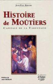 Jean-paul bergeri, histoire de moûtiers - Couverture - Format classique