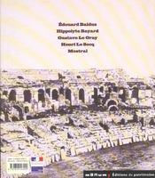 La Mission Heliographique. Cinq Photographes Parcourent La France En 1851 - 4ème de couverture - Format classique
