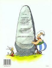 Astérix et la surprise de César - 4ème de couverture - Format classique