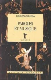 Paroles Et Musique - Couverture - Format classique