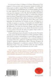 Contes immoraux du XVIII siècle - 4ème de couverture - Format classique