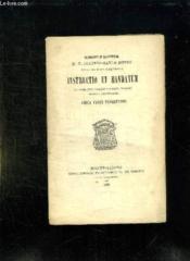 Instructio Et Mandatum. Texte En Italien. - Couverture - Format classique