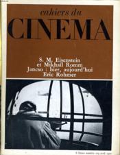 Cahiers Du Cinema N° 219 - S. M. Eisenstein Et Mikhail Romm - Jansco: Hier, Aujourd'Hui - Eric Rohmer - Couverture - Format classique