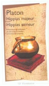 Hippias Majeur, Hippias Mineur - Couverture - Format classique