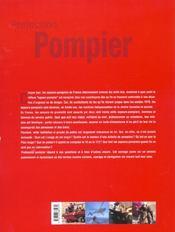 Profession Pompier - 4ème de couverture - Format classique