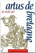 Artus de Bretagne ; fac-similé 1584 - Couverture - Format classique