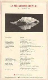 Metaphore (Revue) N 3 (La) - Couverture - Format classique