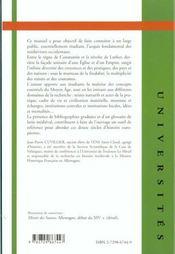 Histoire De L'Europe Occidentale Au Moyen Age - 4ème de couverture - Format classique