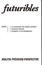 Futuribles N.163 Mars 1992 - Couverture - Format classique