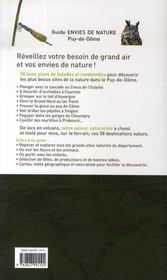 Puy-De-Dome - 4ème de couverture - Format classique