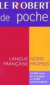 Le Robert de poche (édition 2004) (édition 2004) - Couverture - Format classique