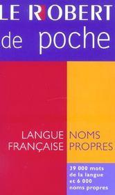 Le Robert de poche (édition 2004) (édition 2004) - Intérieur - Format classique