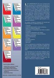 Rencontres francophones sur la logique floue et ses applications - 4ème de couverture - Format classique