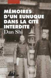 Mémoires d'un eunuque dans la cité interdite - Couverture - Format classique