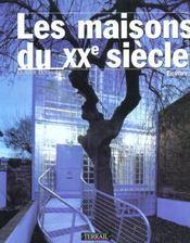 Maisons d'architecte du xxeme siecle en europe - Intérieur - Format classique