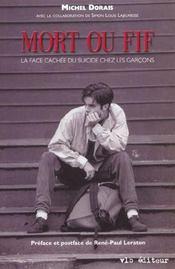 Mort Ou Vif ; La Face Cachee Du Suicide Chez Les Garcons - Intérieur - Format classique
