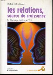 Relations : Source De Croissance (Les) - Couverture - Format classique