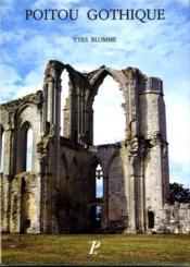 Poitou gothique. - Couverture - Format classique