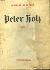 Peter Holz. - Couverture - Format classique