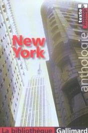 Vente livre :  New york  - Collectif Gallimard - Collectifs Gallimard - Marc-Henri Arfeux