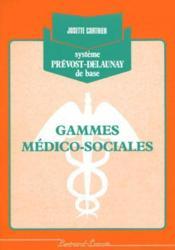 Gammes Medico-Sociales - Couverture - Format classique