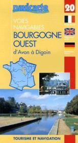 Fluviacarte N.20 ; Bourgogne Ouest ; D'Avon A Digoin - Couverture - Format classique