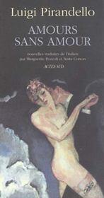 Amours Sans Amour - Intérieur - Format classique
