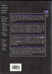Physique 1 Sup Bio Veto Deug B - 4ème de couverture - Format classique